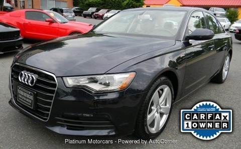 2012 Audi A6 for sale at Platinum Motorcars in Warrenton VA