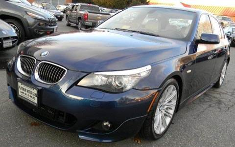 2009 BMW 5 Series for sale at Platinum Motorcars in Warrenton VA