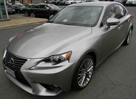 2014 Lexus IS 250 for sale at Platinum Motorcars in Warrenton VA