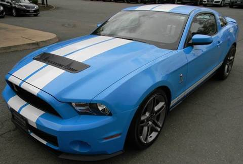 2010 Ford Shelby GT500 for sale at Platinum Motorcars in Warrenton VA