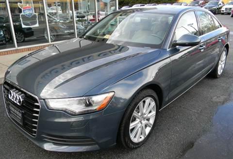 2013 Audi A6 for sale at Platinum Motorcars in Warrenton VA