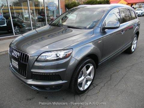 2014 Audi Q7 for sale at Platinum Motorcars in Warrenton VA