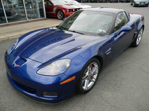 2007 Chevrolet Corvette for sale at Platinum Motorcars in Warrenton VA