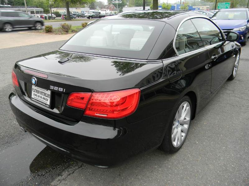 2012 Bmw 3 Series 328i 2dr Convertible SULEV In Warrenton VA