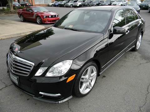 2013 Mercedes-Benz E-Class for sale at Platinum Motorcars in Warrenton VA