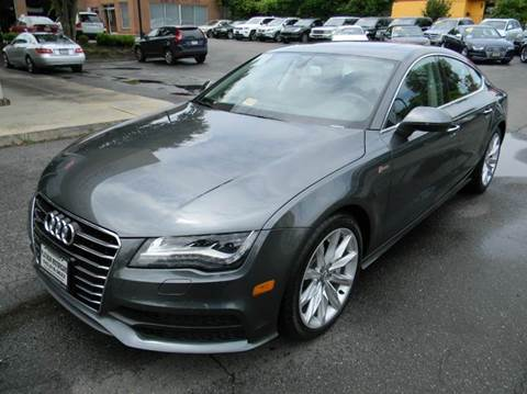 2013 Audi A7 for sale at Platinum Motorcars in Warrenton VA