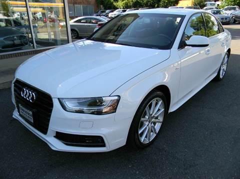 2015 Audi A4 for sale at Platinum Motorcars in Warrenton VA