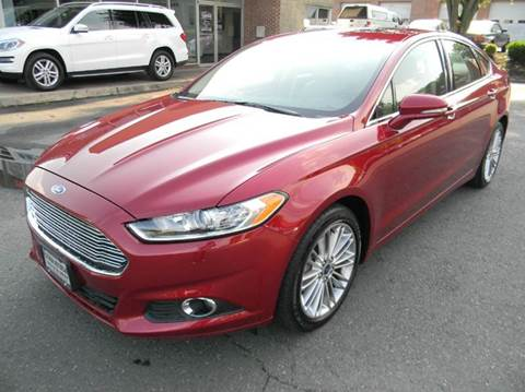2014 Ford Fusion for sale at Platinum Motorcars in Warrenton VA