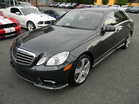 2011 Mercedes-Benz E-Class for sale at Platinum Motorcars in Warrenton VA