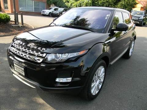 2014 Land Rover Range Rover Evoque for sale at Platinum Motorcars in Warrenton VA