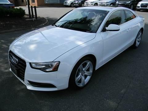 2013 Audi A5 for sale at Platinum Motorcars in Warrenton VA