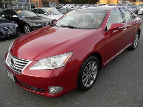 2012 Lexus ES 350 for sale at Platinum Motorcars in Warrenton VA