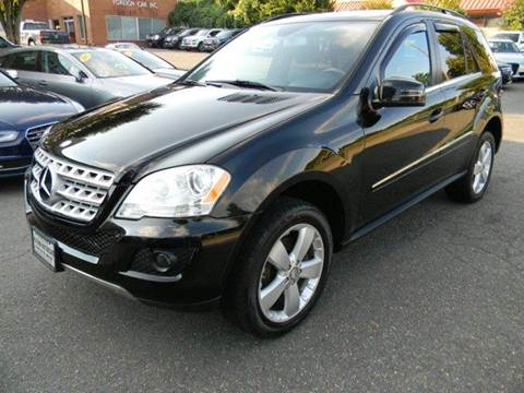 2011 Mercedes-Benz M-Class for sale at Platinum Motorcars in Warrenton VA