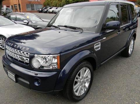 2012 Land Rover LR4 for sale at Platinum Motorcars in Warrenton VA