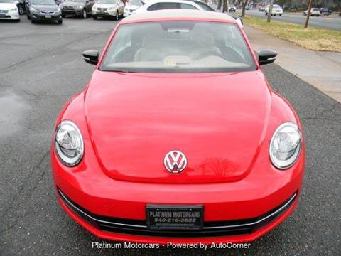 Volkswagen Used Cars Luxury Cars For Sale Warrenton Platinum Motorcars