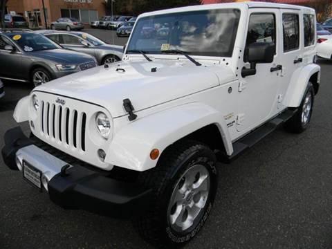 2014 Jeep Wrangler Unlimited for sale at Platinum Motorcars in Warrenton VA