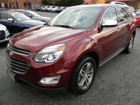 2016 Chevrolet Equinox for sale at Platinum Motorcars in Warrenton VA
