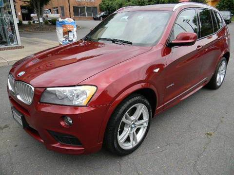 2014 BMW X3 for sale at Platinum Motorcars in Warrenton VA