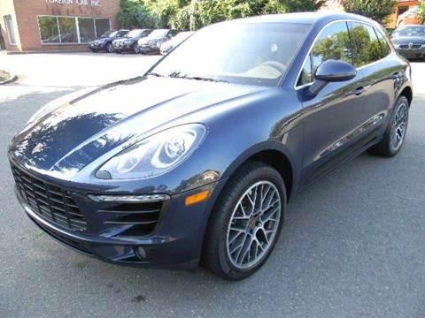 2015 Porsche Macan for sale at Platinum Motorcars in Warrenton VA