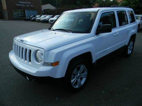 2017 Jeep Patriot for sale at Platinum Motorcars in Warrenton VA
