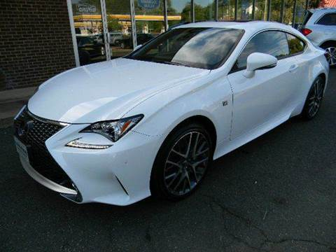 2016 Lexus RC 350 for sale at Platinum Motorcars in Warrenton VA