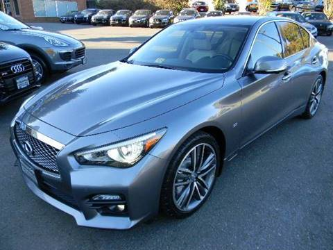 2014 Infiniti Q50 for sale at Platinum Motorcars in Warrenton VA