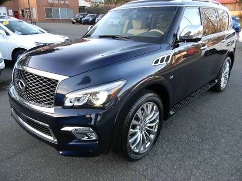 2016 Infiniti QX80 for sale at Platinum Motorcars in Warrenton VA