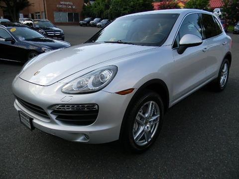 2012 Porsche Cayenne for sale at Platinum Motorcars in Warrenton VA
