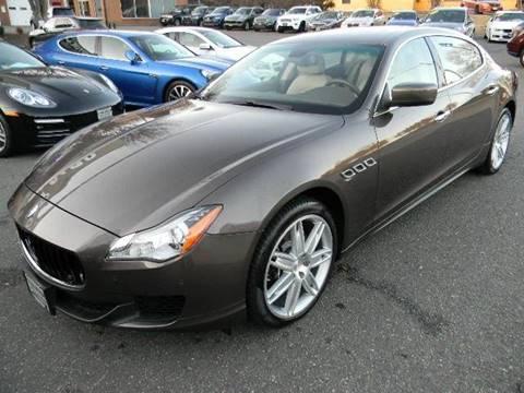 2014 Maserati Quattroporte for sale at Platinum Motorcars in Warrenton VA