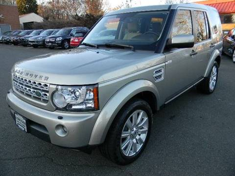 2013 Land Rover LR4 for sale at Platinum Motorcars in Warrenton VA
