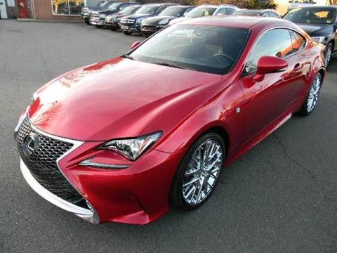2015 Lexus RC 350 for sale at Platinum Motorcars in Warrenton VA