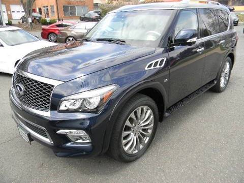 2015 Infiniti QX80 for sale at Platinum Motorcars in Warrenton VA