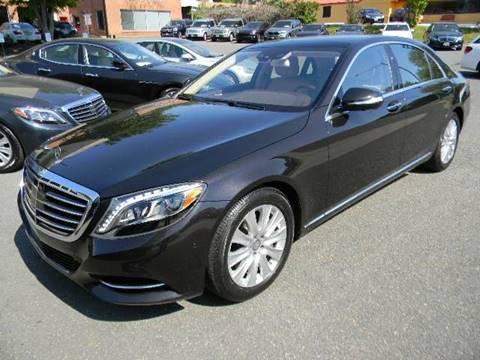 2015 Mercedes-Benz S-Class for sale at Platinum Motorcars in Warrenton VA