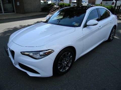 2017 Alfa Romeo Giulia for sale at Platinum Motorcars in Warrenton VA