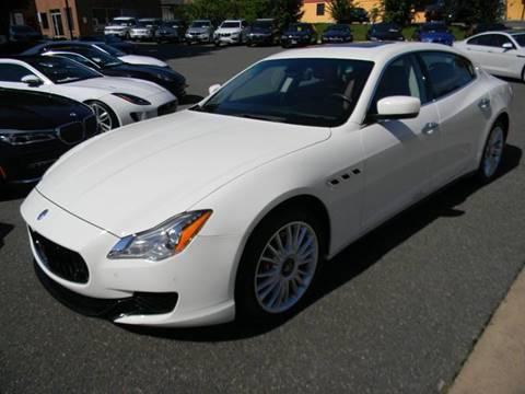 2015 Maserati Quattroporte for sale at Platinum Motorcars in Warrenton VA