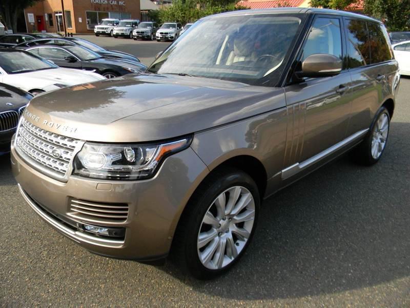2015 Land Rover Range Rover for sale in Warrenton, VA