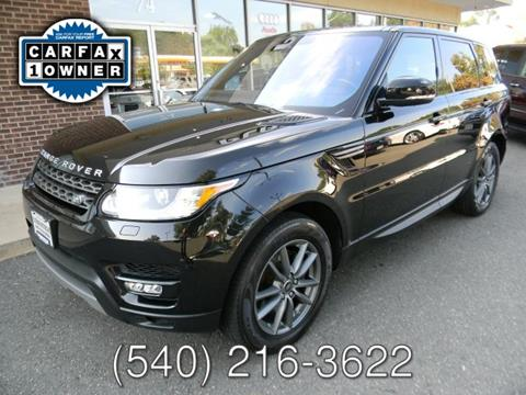 2016 Land Rover Range Rover Sport for sale at Platinum Motorcars in Warrenton VA