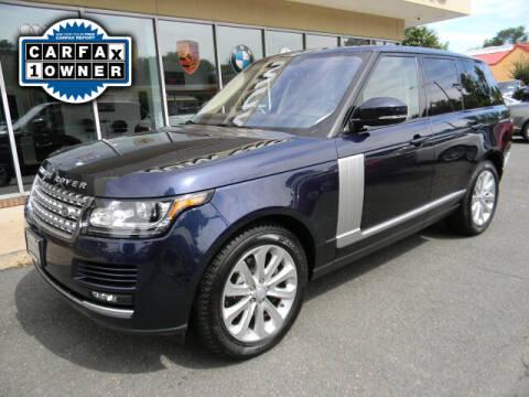 2016 Land Rover Range Rover for sale at Platinum Motorcars in Warrenton VA