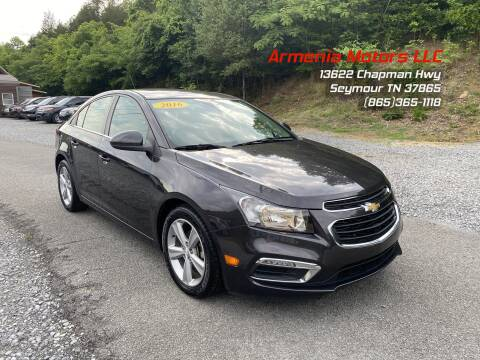 2016 Chevrolet Cruze Limited for sale at Armenia Motors in Seymour TN