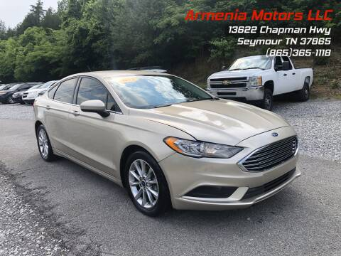 2017 Ford Fusion for sale at Armenia Motors in Seymour TN