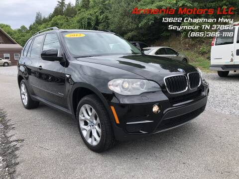 2012 BMW X5 for sale at Armenia Motors in Seymour TN