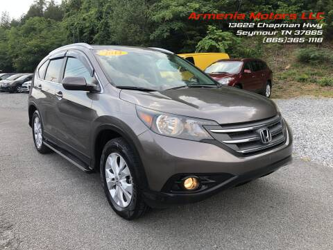 2012 Honda CR-V for sale at Armenia Motors in Seymour TN