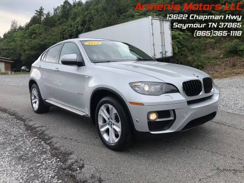 2014 BMW X6 for sale at Armenia Motors in Seymour TN