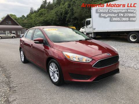 2017 Ford Focus for sale at Armenia Motors in Seymour TN
