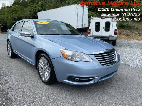 2012 Chrysler 200 for sale at Armenia Motors in Seymour TN