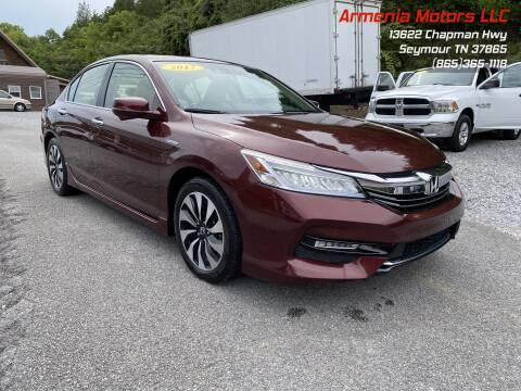 2017 Honda Accord Hybrid for sale at Armenia Motors in Seymour TN