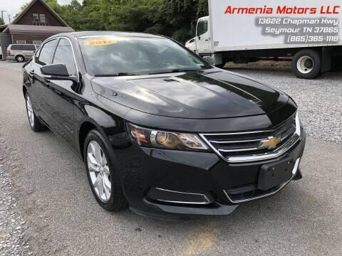 2017 Chevrolet Impala for sale at Armenia Motors in Seymour TN
