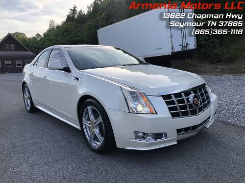 2013 Cadillac CTS for sale at Armenia Motors in Seymour TN
