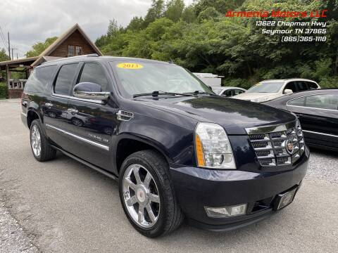 2013 Cadillac Escalade ESV for sale at Armenia Motors in Seymour TN