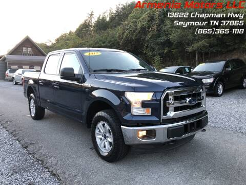 2017 Ford F-150 for sale at Armenia Motors in Seymour TN